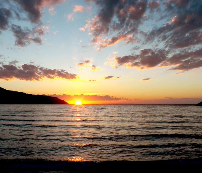 SUNSET SEA clip 3